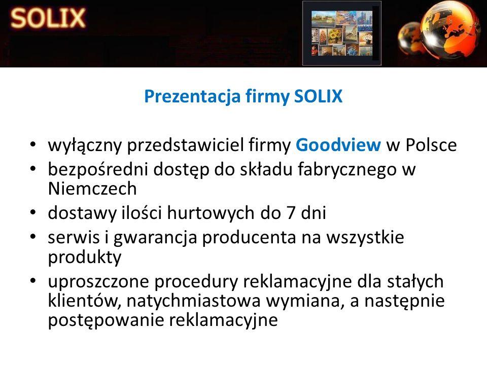 Prezentacja firmy SOLIX