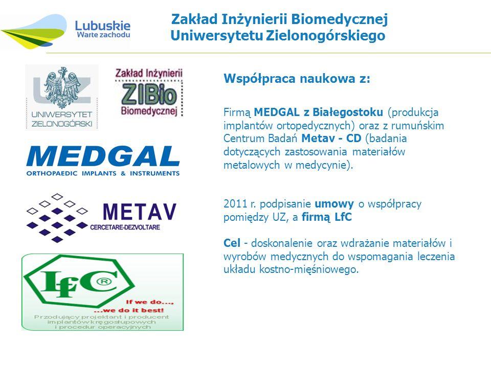 Zakład Inżynierii Biomedycznej Uniwersytetu Zielonogórskiego