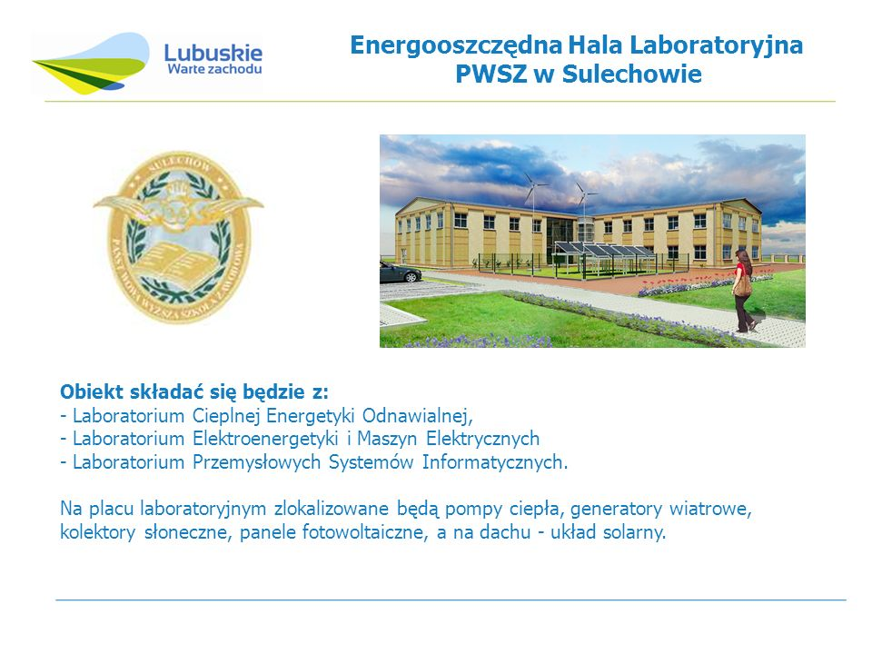 Energooszczędna Hala Laboratoryjna