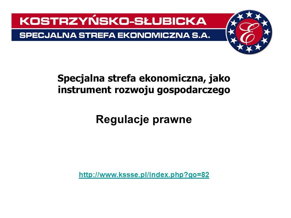 Specjalna strefa ekonomiczna, jako instrument rozwoju gospodarczego