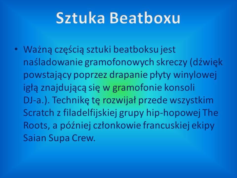 Sztuka Beatboxu