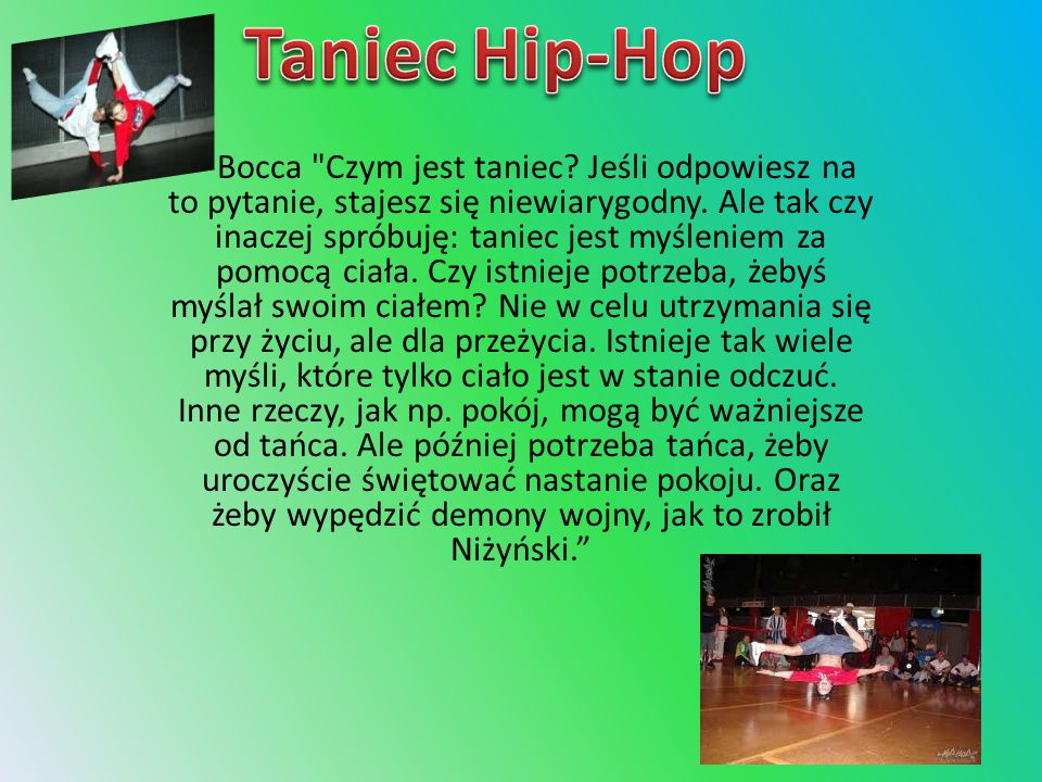 Taniec Hip-Hop