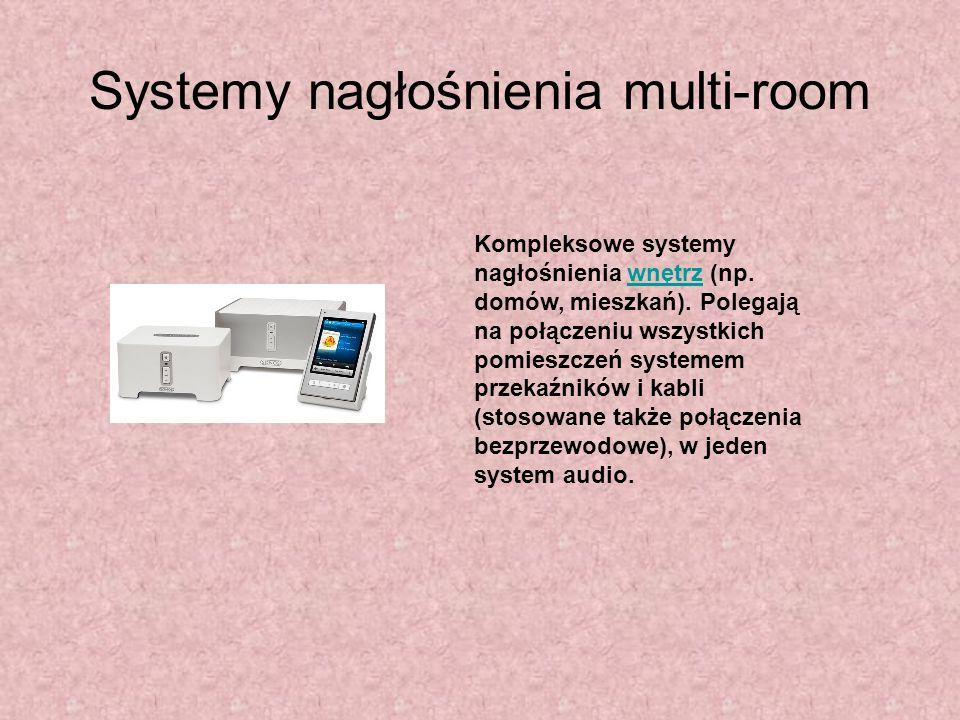 Systemy nagłośnienia multi-room