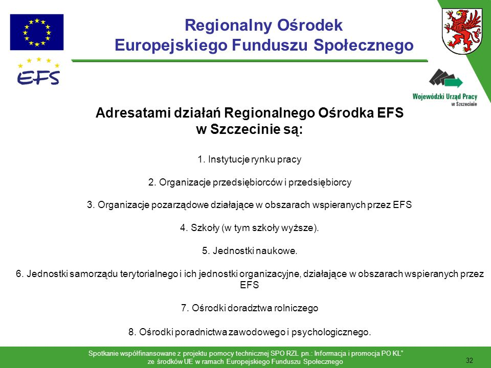 Regionalny Ośrodek Europejskiego Funduszu Społecznego