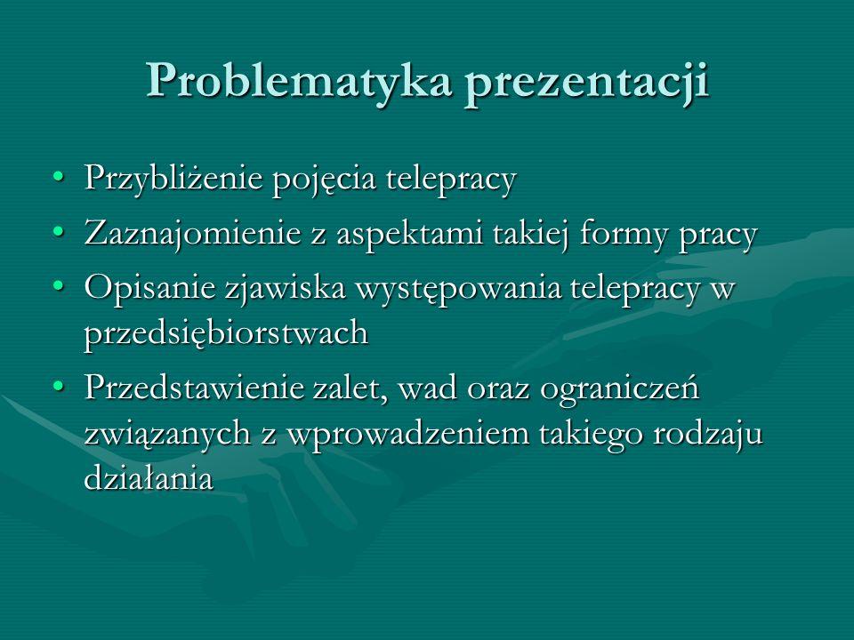 Problematyka prezentacji