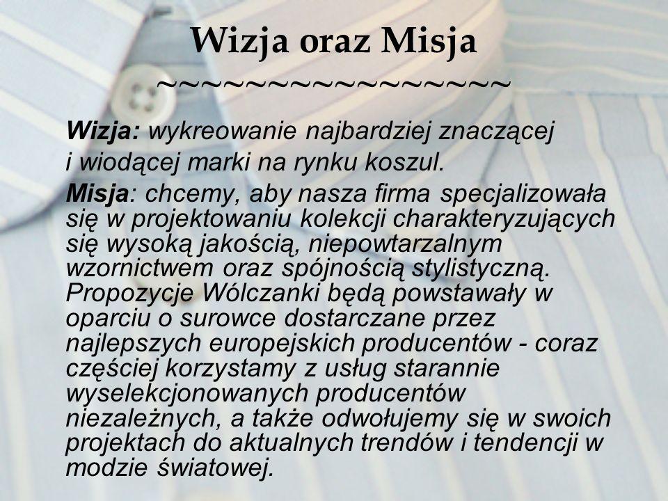 Wizja oraz Misja ~~~~~~~~~~~~~~~~
