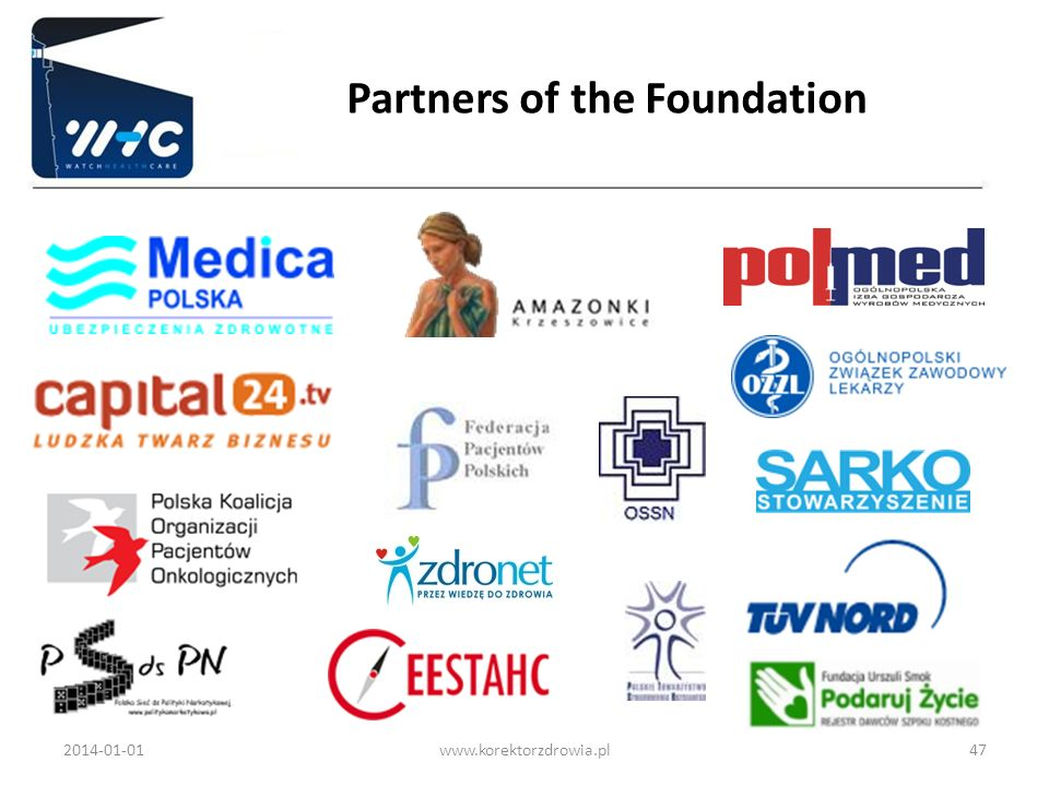 Partners of the Foundation