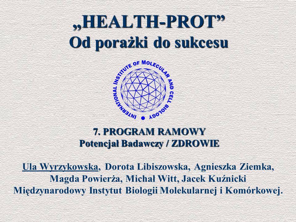 """HEALTH-PROT Od porażki do sukcesu"