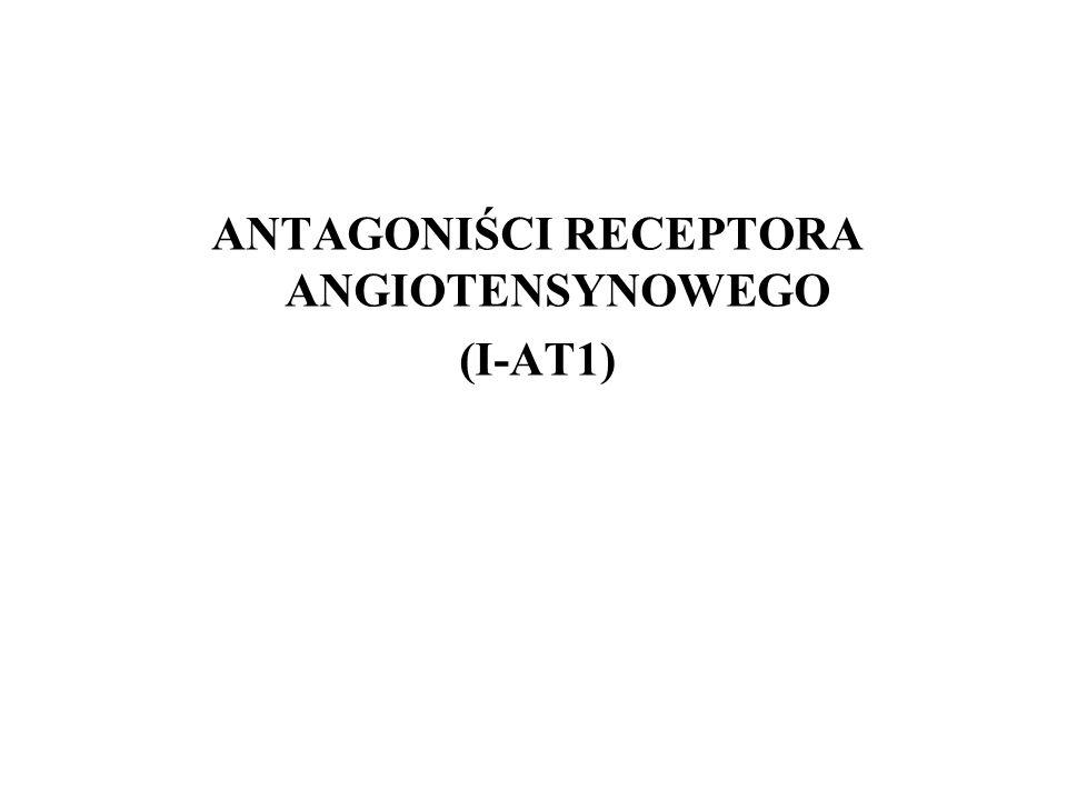 ANTAGONIŚCI RECEPTORA ANGIOTENSYNOWEGO
