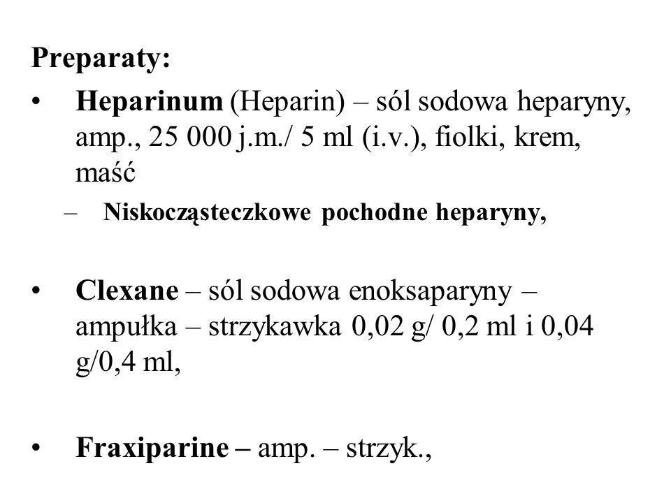 Fraxiparine – amp. – strzyk.,
