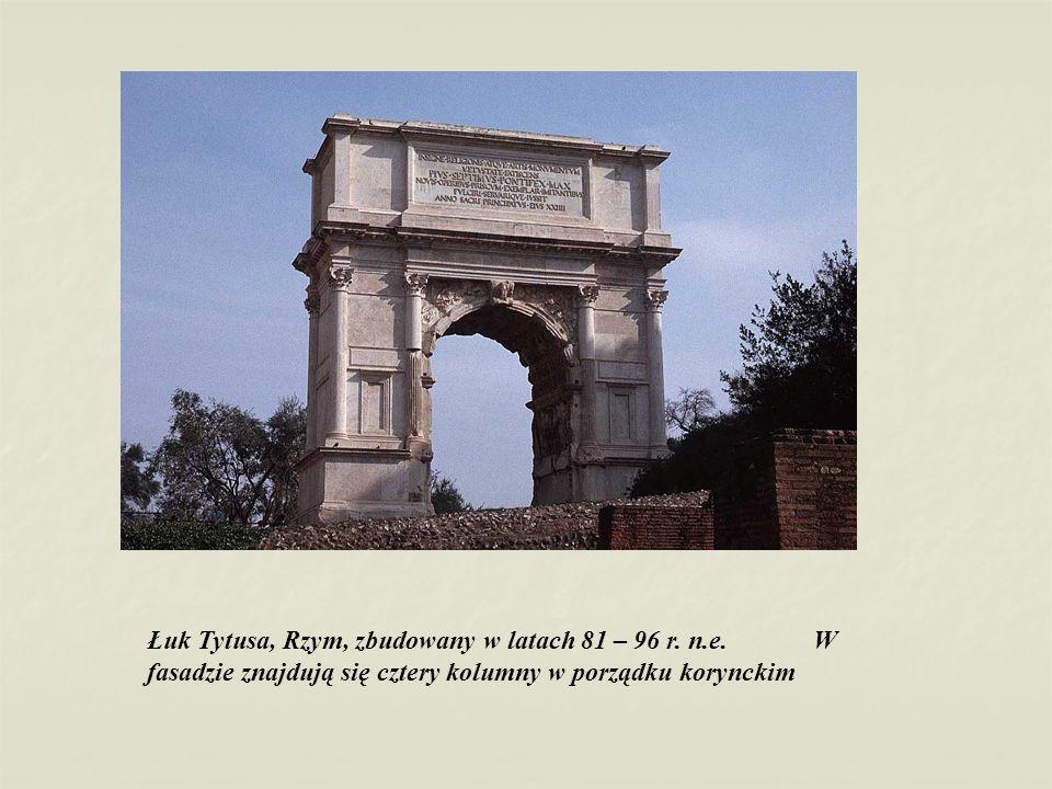 Łuk Tytusa, Rzym, zbudowany w latach 81 – 96 r. n. e