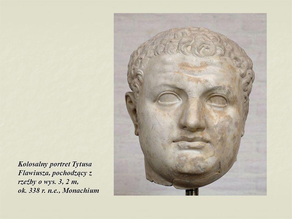 Kolosalny portret Tytusa Flawiusza, pochodzący z rzeźby o wys