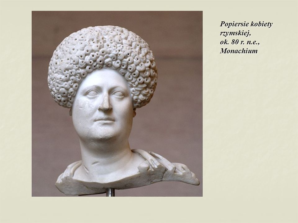 Popiersie kobiety rzymskiej, ok. 80 r. n.e., Monachium