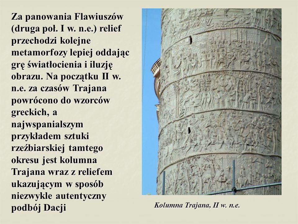 Za panowania Flawiuszów (druga poł. I w. n. e