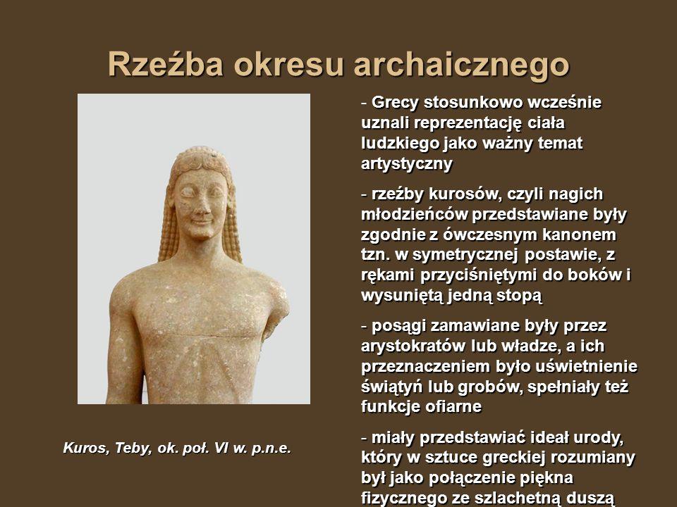 Rzeźba okresu archaicznego