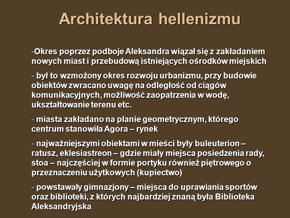 Architektura hellenizmu
