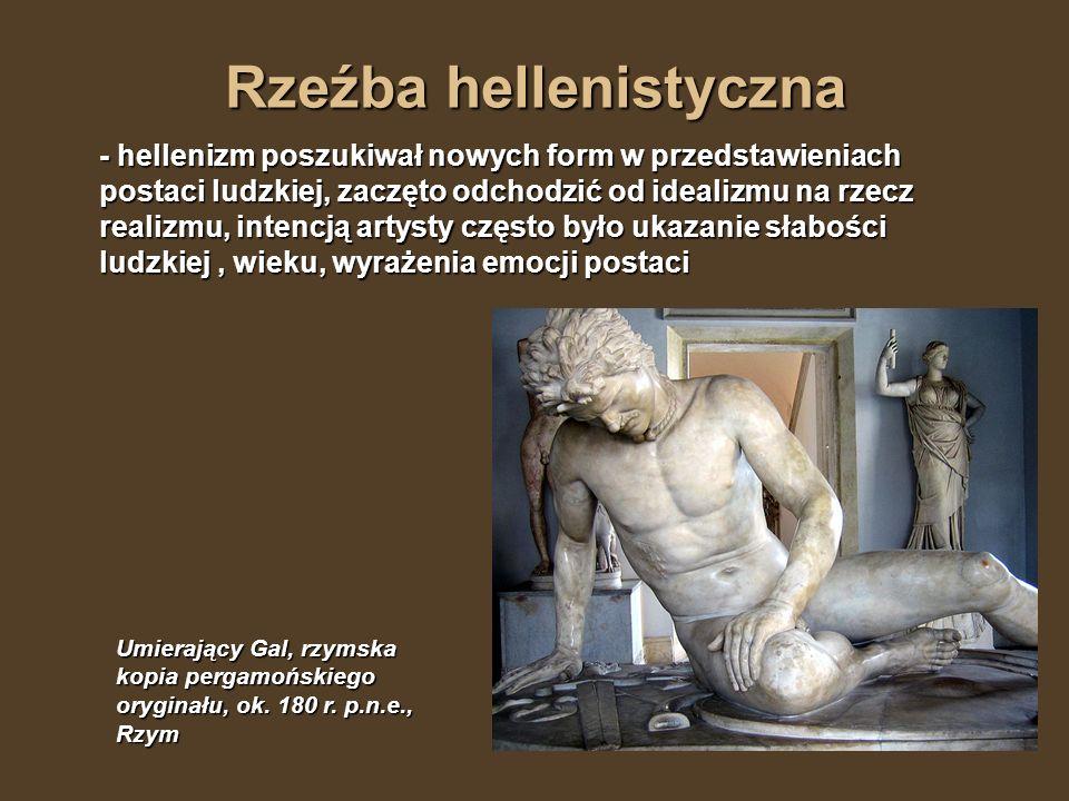 Rzeźba hellenistyczna