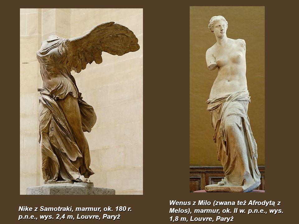 Wenus z Milo (zwana też Afrodytą z Melos), marmur, ok. II w. p. n. e