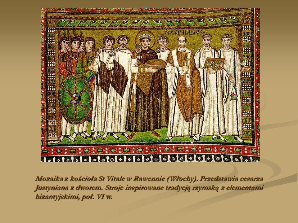Mozaika z kościoła St Vitale w Rawennie (Włochy)
