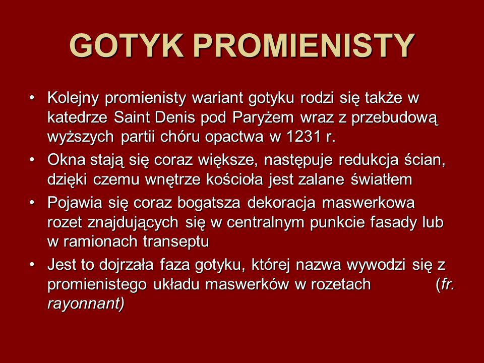 GOTYK PROMIENISTY
