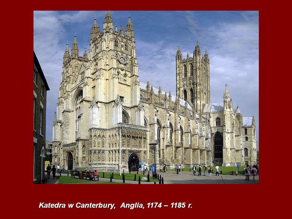 Katedra w Canterbury, Anglia, 1174 – 1185 r.