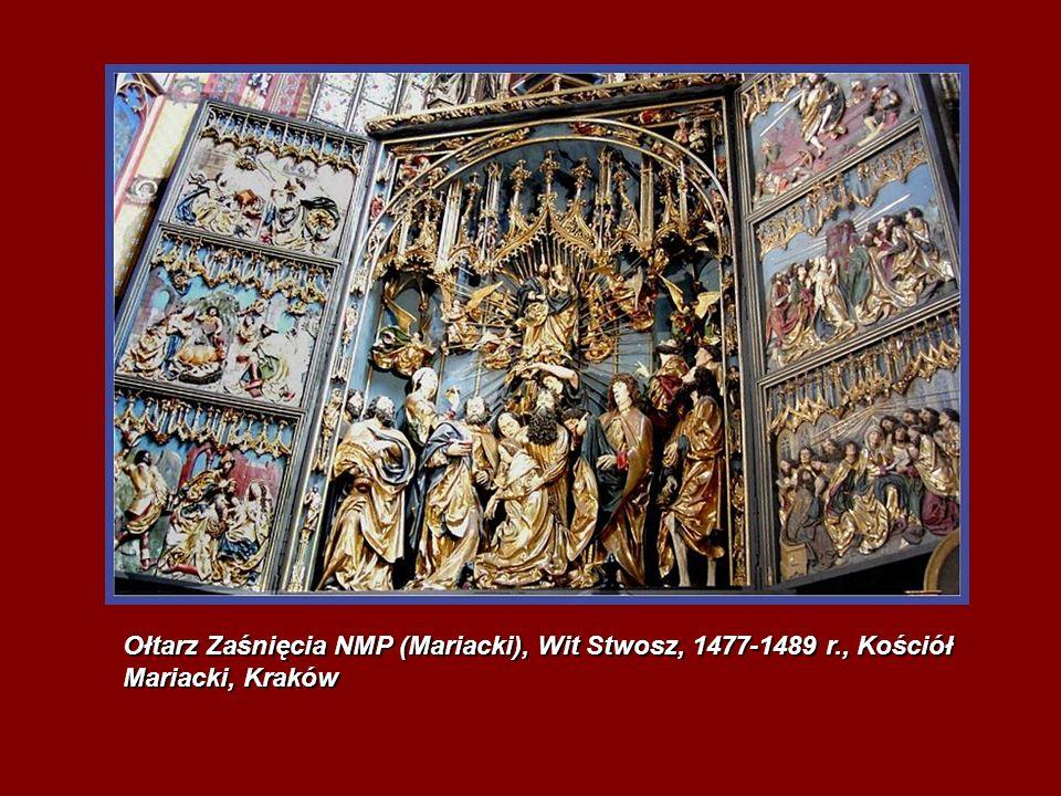 Ołtarz Zaśnięcia NMP (Mariacki), Wit Stwosz, 1477-1489 r