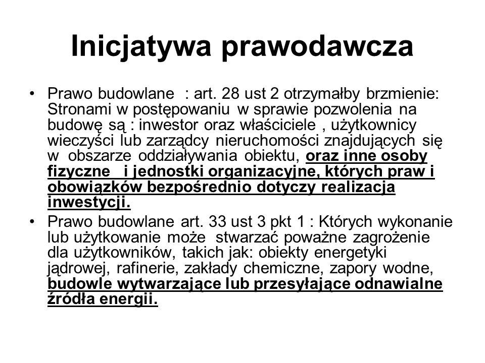 Inicjatywa prawodawcza