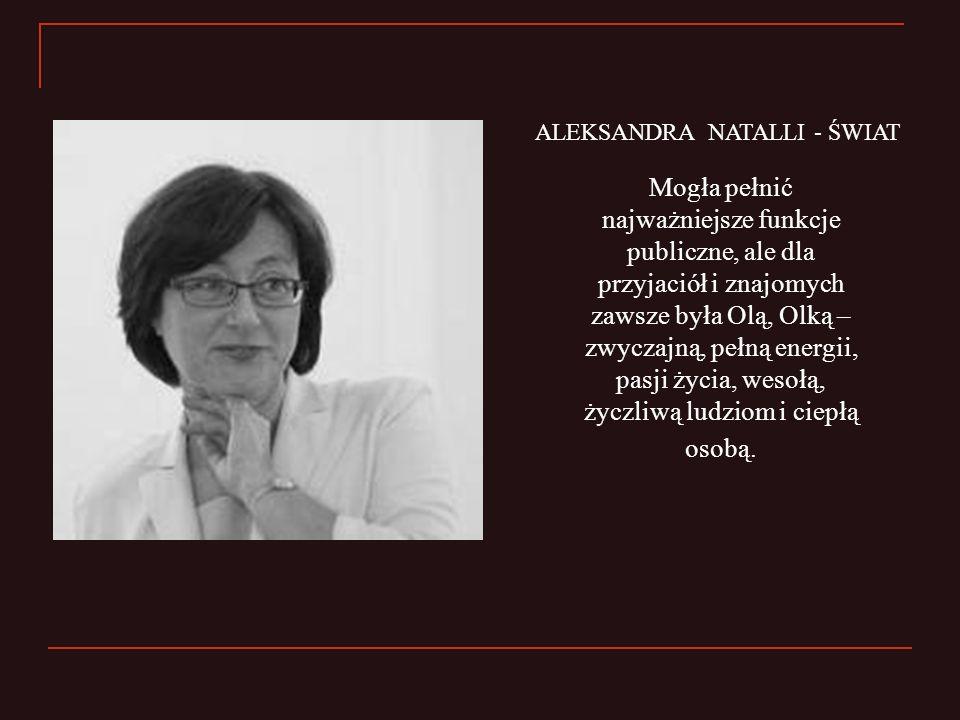ALEKSANDRA NATALLI - ŚWIAT