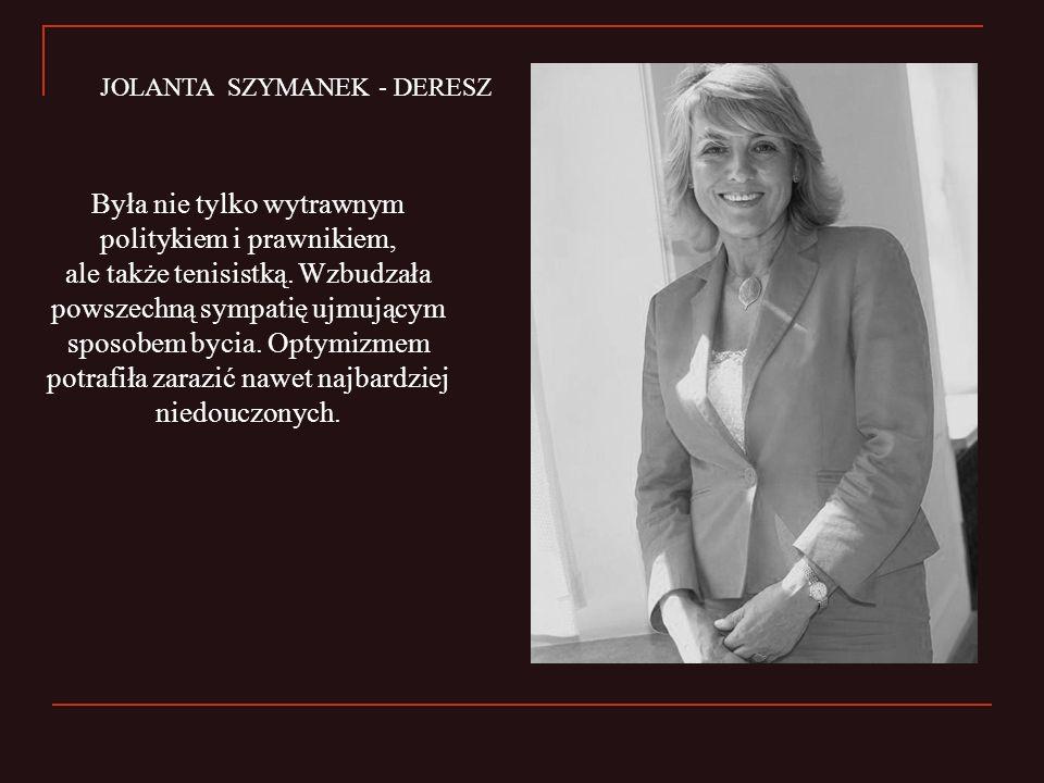 JOLANTA SZYMANEK - DERESZ