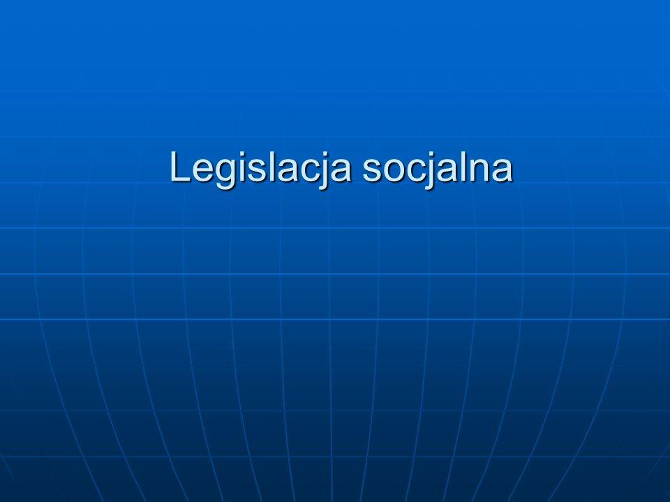 Legislacja socjalna