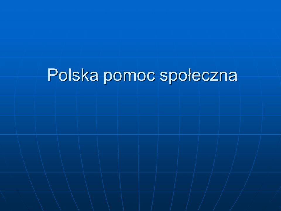Polska pomoc społeczna