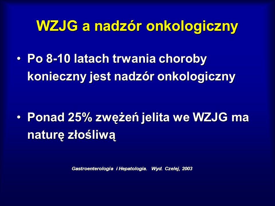 WZJG a nadzór onkologiczny