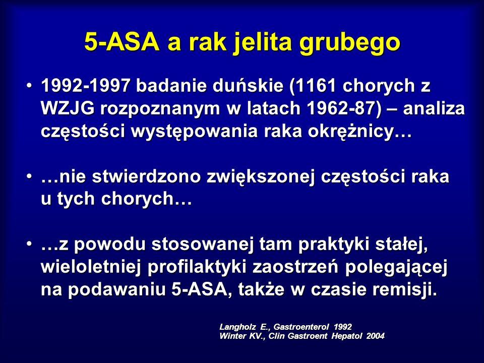 5-ASA a rak jelita grubego