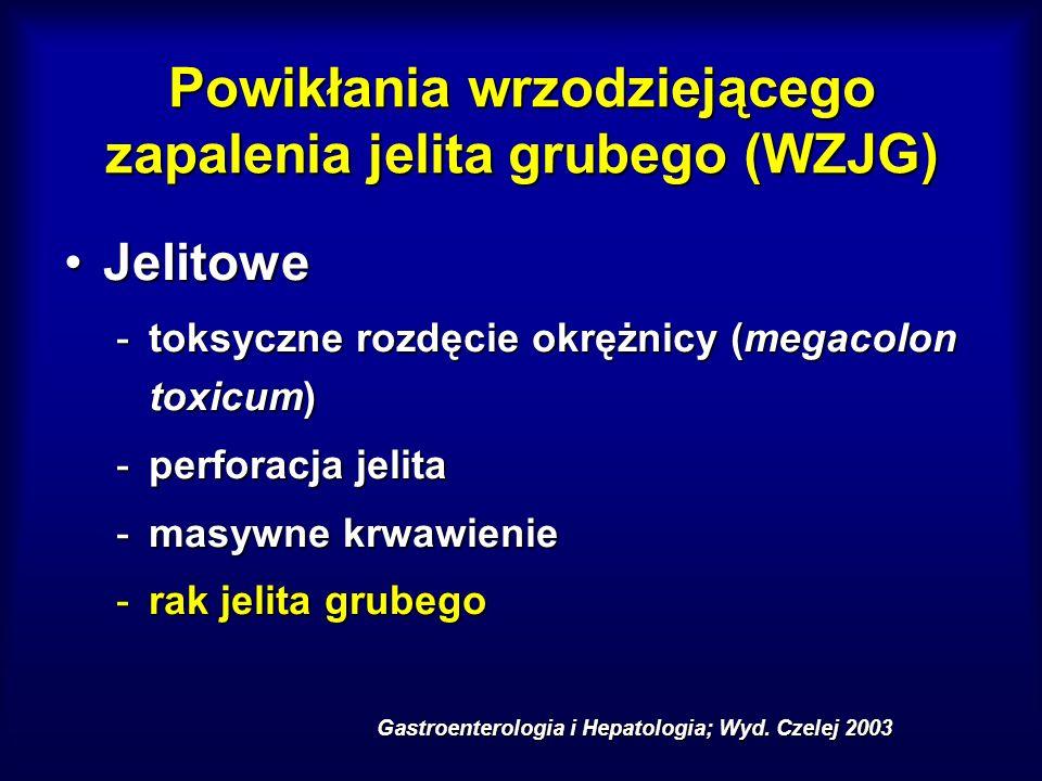 Powikłania wrzodziejącego zapalenia jelita grubego (WZJG)