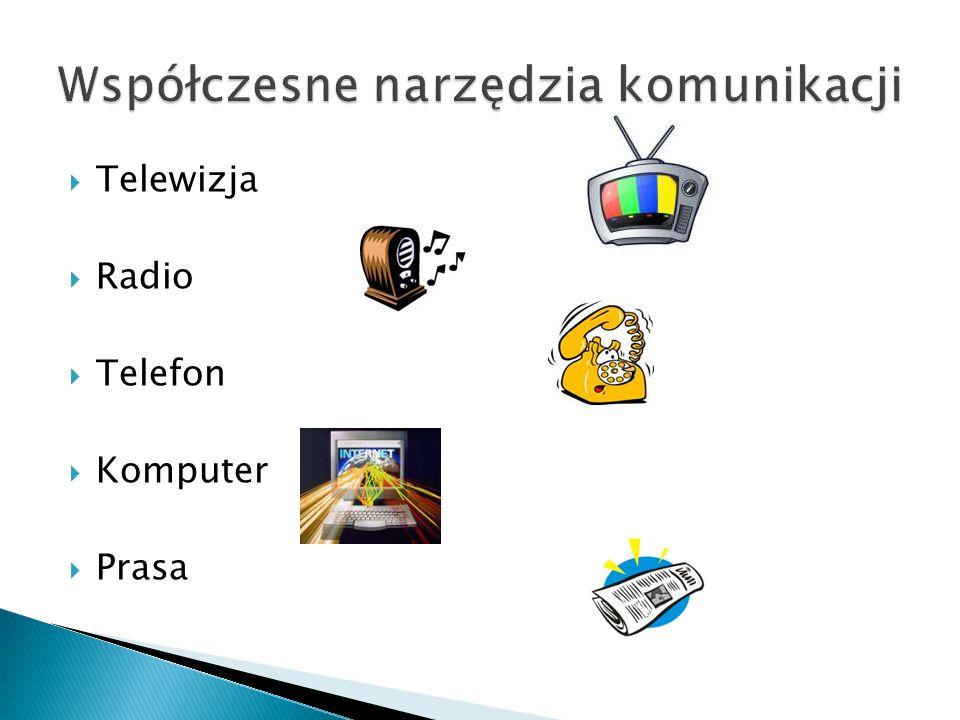 Współczesne narzędzia komunikacji