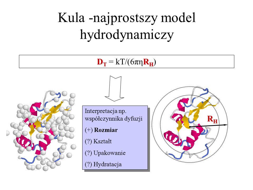 Kula -najprostszy model hydrodynamiczy