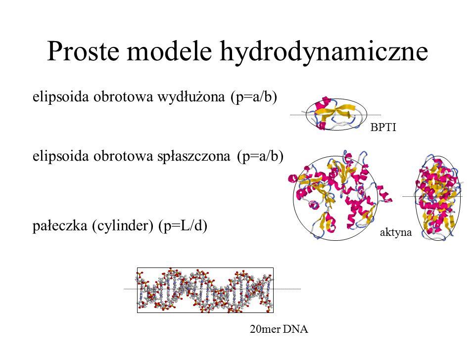 Proste modele hydrodynamiczne