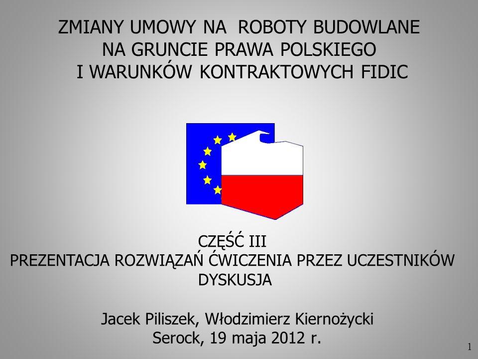 Jacek Piliszek, Włodzimierz Kiernożycki Serock, 19 maja 2012 r.
