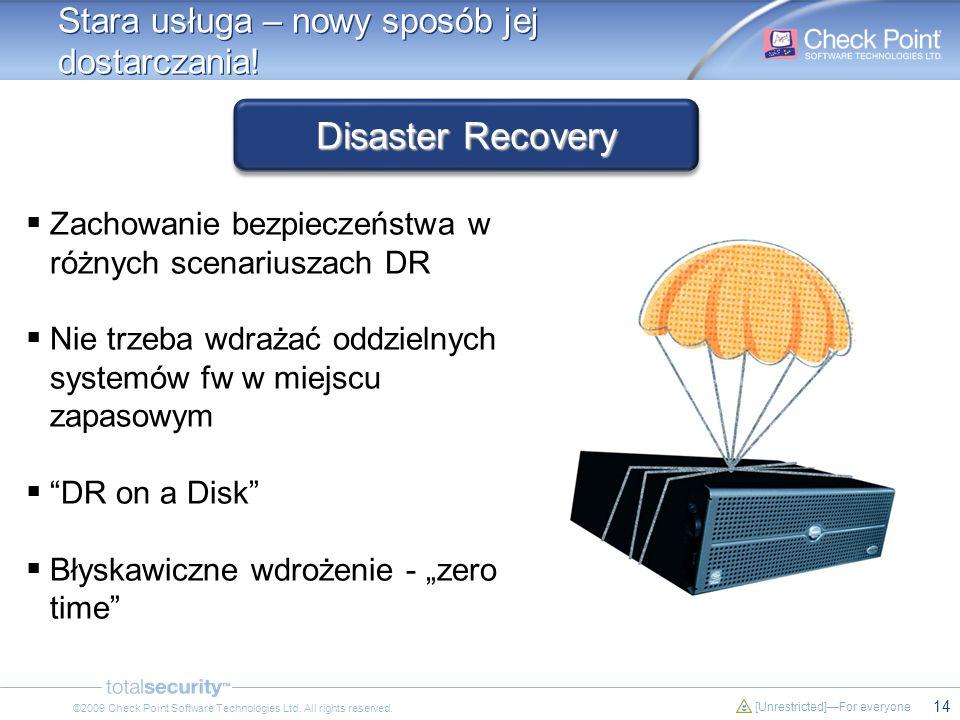 Disaster Recovery Stara usługa – nowy sposób jej dostarczania!