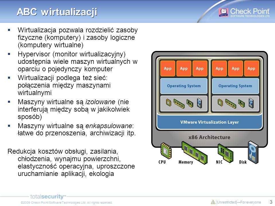 ABC wirtualizacji Wirtualizacja pozwala rozdzielić zasoby fizyczne (komputery) i zasoby logiczne (komputery wirtualne)