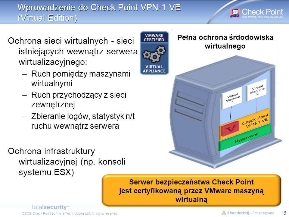 Wprowadzenie do Check Point VPN-1 VE (Virtual Edition)