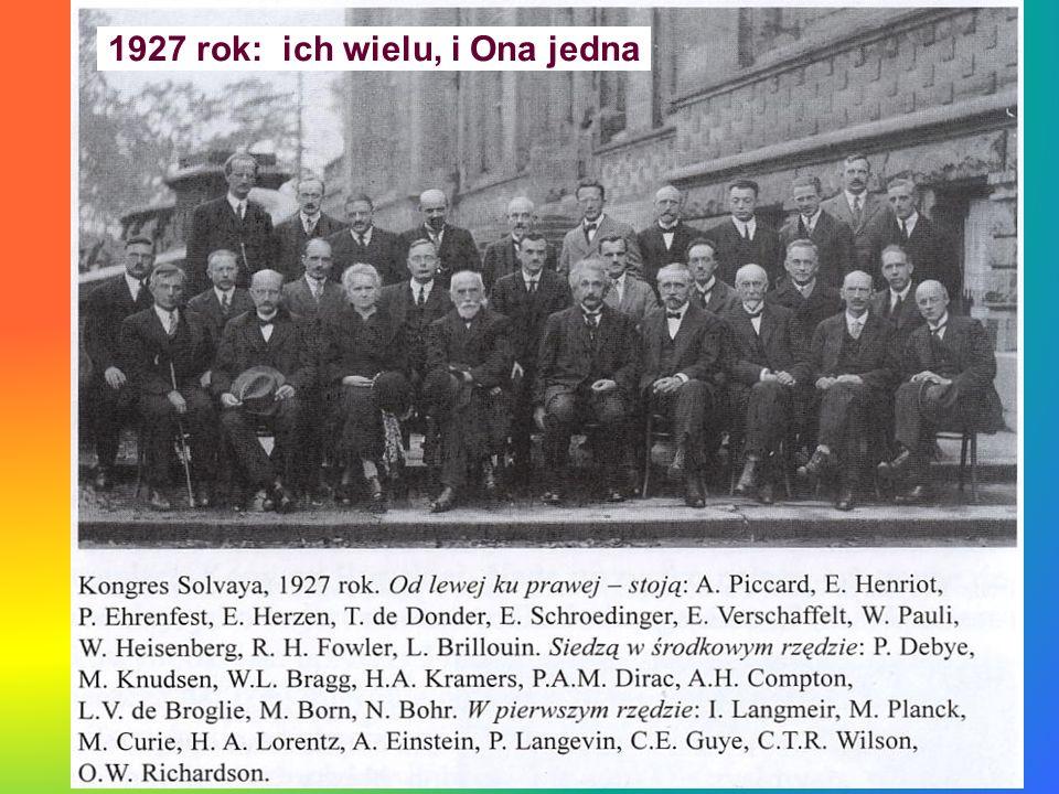 1927 rok: ich wielu, i Ona jedna