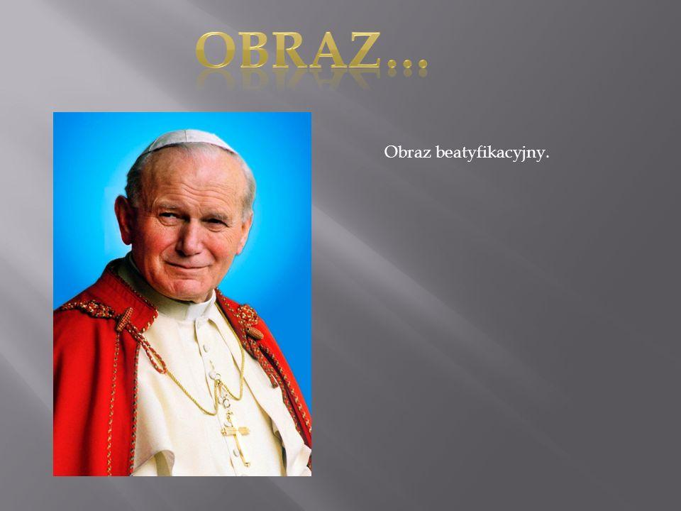 Obraz… Obraz beatyfikacyjny.