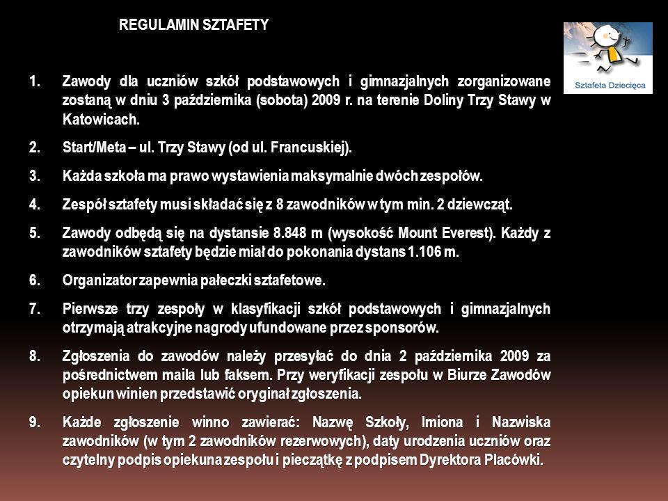 REGULAMIN SZTAFETY