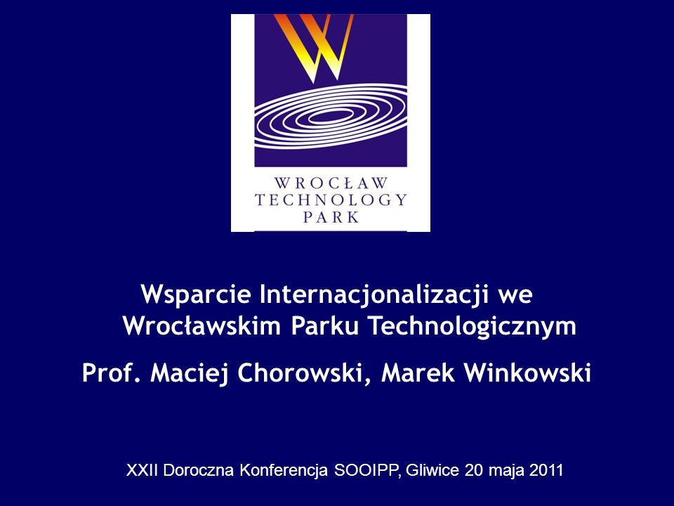 Wsparcie Internacjonalizacji we Wrocławskim Parku Technologicznym
