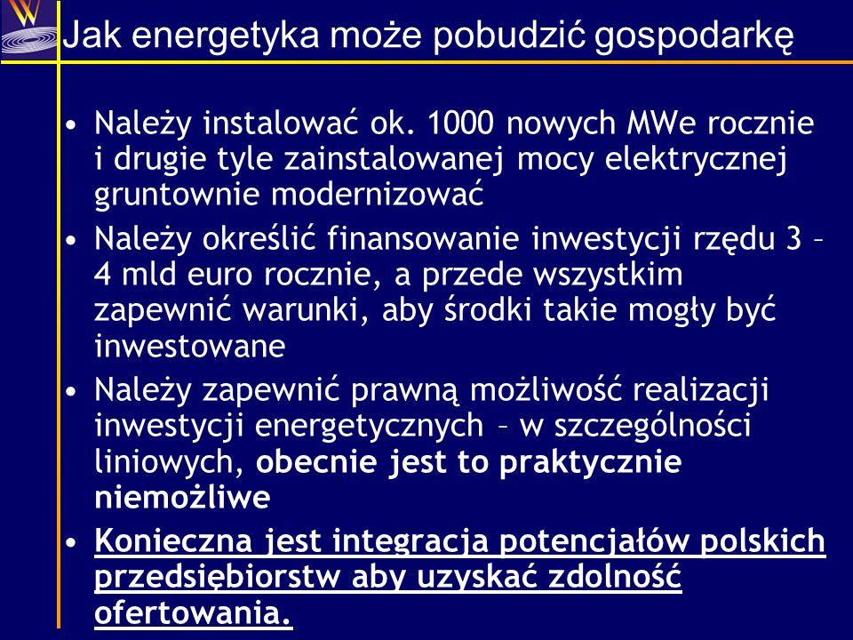 Jak energetyka może pobudzić gospodarkę