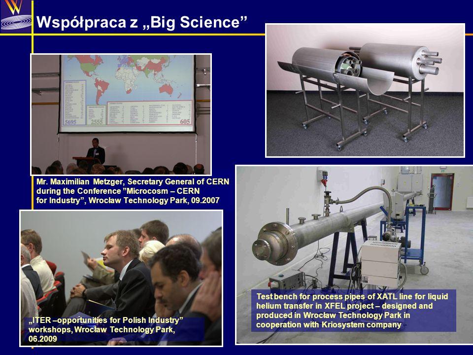 """Współpraca z """"Big Science"""