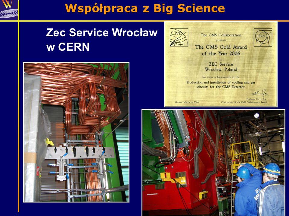 Współpraca z Big Science