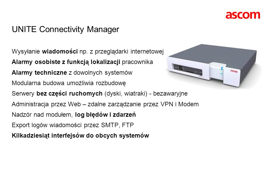 UNITE Connectivity Manager
