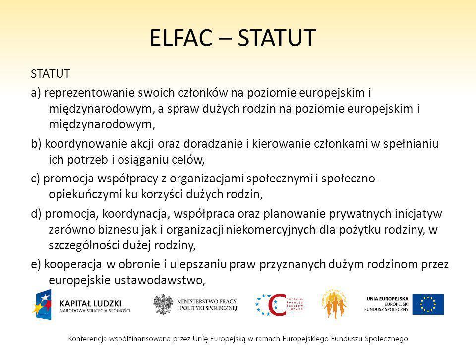 ELFAC – STATUT